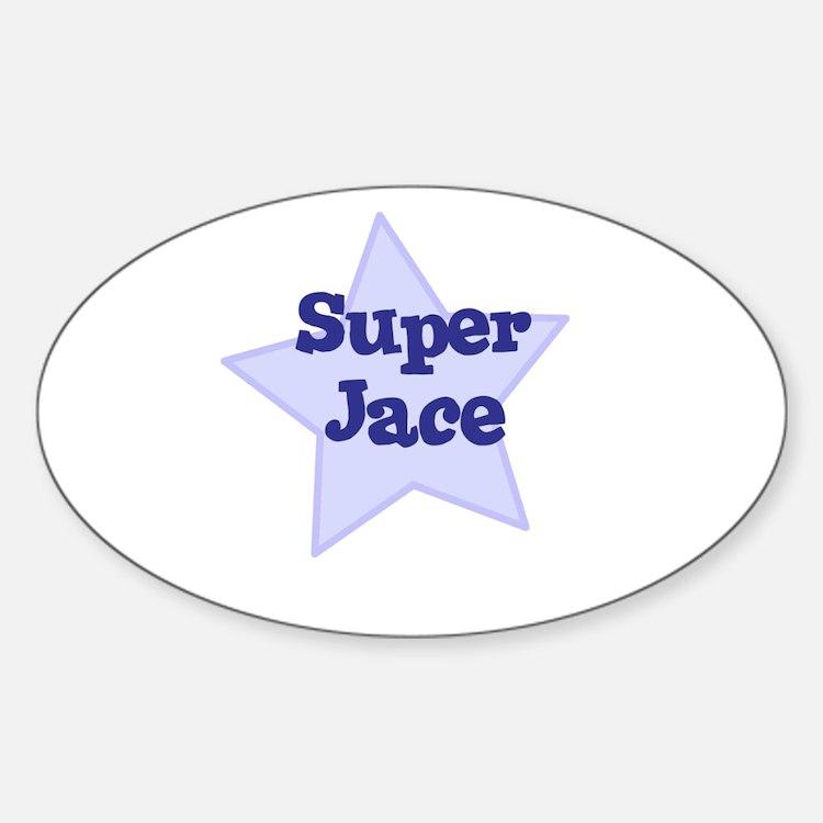 Super Jace Oval Decal