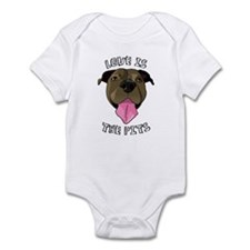 Love is The Pits Infant Bodysuit