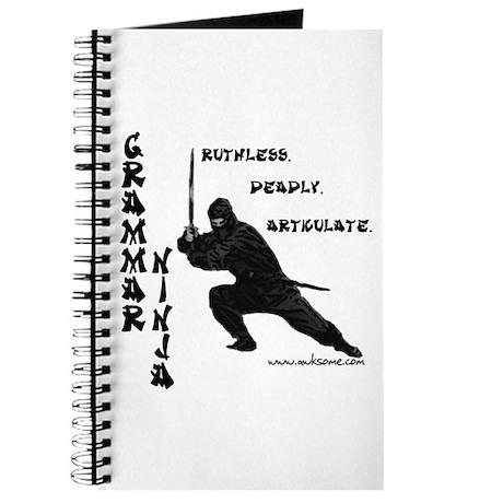 """Grammar Ninja"" Journal"