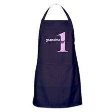 Mommy and Grandma Shirts Apron (dark)