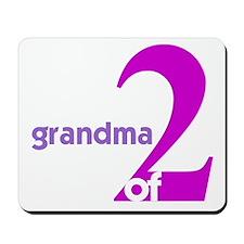 Mommy and Grandma Shirts Mousepad