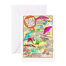 RULES OF THE AIR Greeting Card