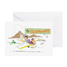 NO AEROBATICS IN SCHOOL SHIPS Greeting Card