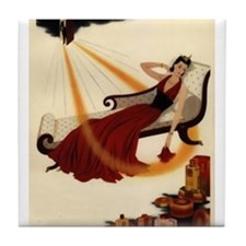 Art Deco Best Seller Tile Coaster