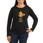 Art Chick Women's Long Sleeve Dark T-Shirt