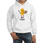 Art Chick Hooded Sweatshirt