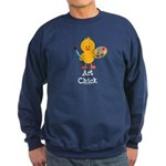 Art Chick Sweatshirt (dark)