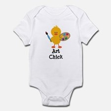 Art Chick Infant Bodysuit