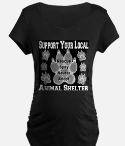 Support Your Local Animal She T-Shirt