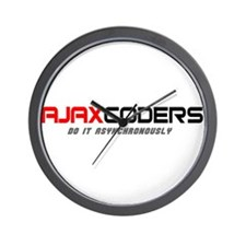 Ajax coders do it asynchronou Wall Clock