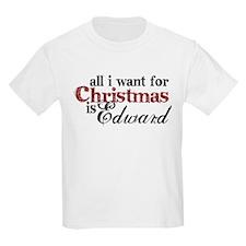 Edward Cullen for Christmas T-Shirt