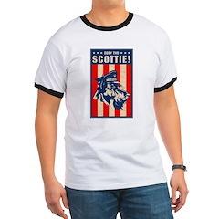 Obey the Scottie! USA Scottish Terrier T