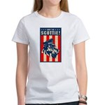 Obey the SCOTTIE! USA Women's T-Shirt
