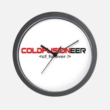 Coldfusioneer: cf_forever Wall Clock