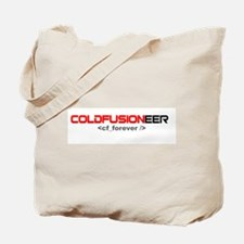 Coldfusioneer: cf_forever Tote Bag