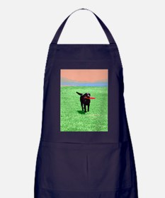 Beautiful Retriever Apron (dark)