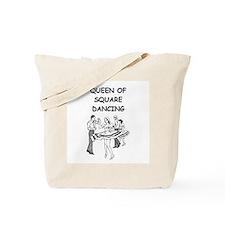 line or square dance Tote Bag
