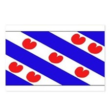 Friesland Frisian Blank Flags Postcards (Package o
