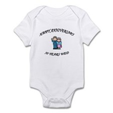 Unique 50th wedding anniversary Infant Bodysuit