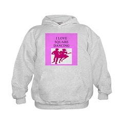 line or square dance Hoodie