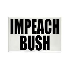 IMPEACH BUSH Rectangle Magnet (100 pack)