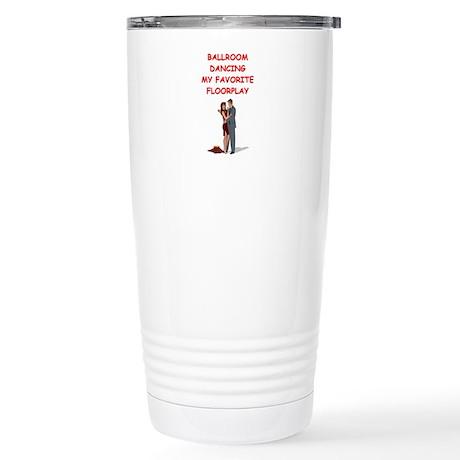 ballroom dancer dancing Stainless Steel Travel Mug