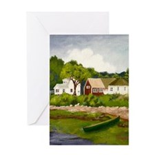 The Cove, Harpswell - Greeting Card