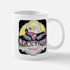 Black Swan Motorcycles Mysterious Black Mug