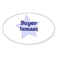 Super Ismael Oval Decal