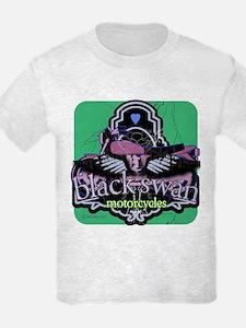 Black Swan Motorcycles Sweet Green T-Shirt