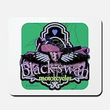 Black Swan Motorcycles Sweet Green Mousepad