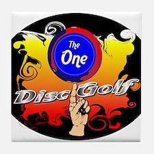 The Disc Tile Coaster