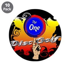 """The Disc 3.5"""" Button (10 pack)"""