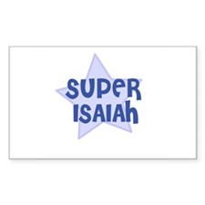 Super Isaiah Rectangle Decal