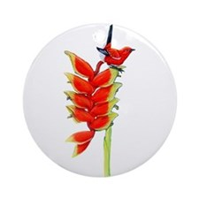 Cute Endangered species Ornament (Round)