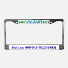 Cute Pacific wildlife care License Plate Frame
