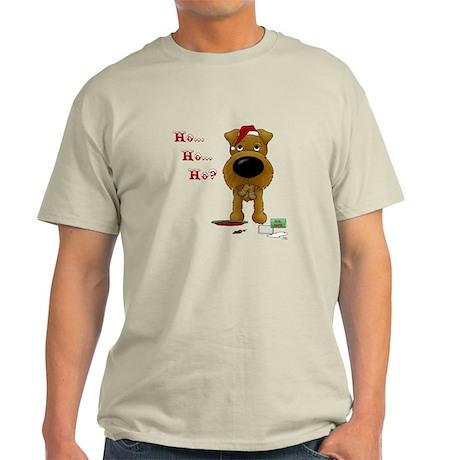Irish Terrier Santa Light T-Shirt