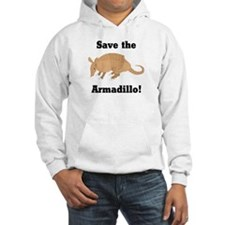 Save the Armadillo Hoodie