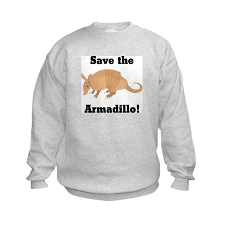 Save the Armadillo Kids Sweatshirt