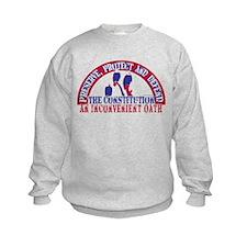 An Inconvenient Oath Sweatshirt