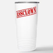 Assclown Stamp Travel Mug
