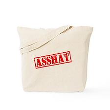Asshat Stamp Tote Bag