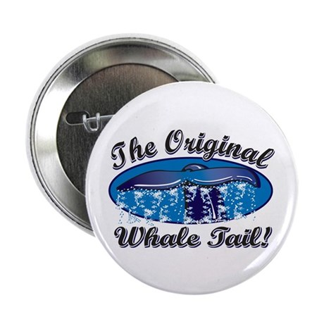 """The Original Whale Tail 2.25"""" Button (100 pack)"""