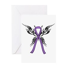 Tribal Butterfly Greeting Card