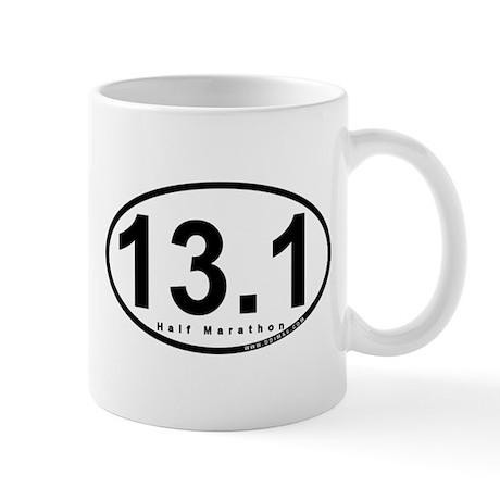 Half Marathon 13.1 Miles Mug