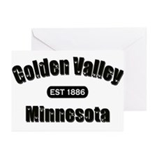 Golden Valley Established 1886 Greeting Cards (Pk