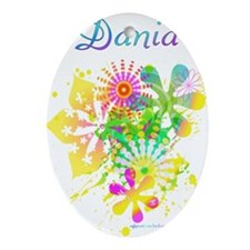 Dania Oval Ornament