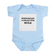 NORWEGIAN LUNDEHUNDS RULE Infant Creeper