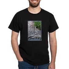 Istanbul fountain Black T-Shirt