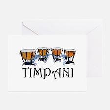 Timpani Greeting Cards (Pk of 10)